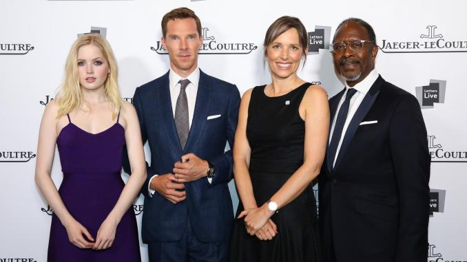 Ellie Bamber, Benedict Cumberbatch, Catherine Rénier and Clarke Peters @getty