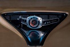 Blasta Watch Scuderia Veloce, silver arrow. Photo taken on the hood of a Alfa Romeo Montreal. ©2019 Blasta Watch Ltd. All Rights reserved.