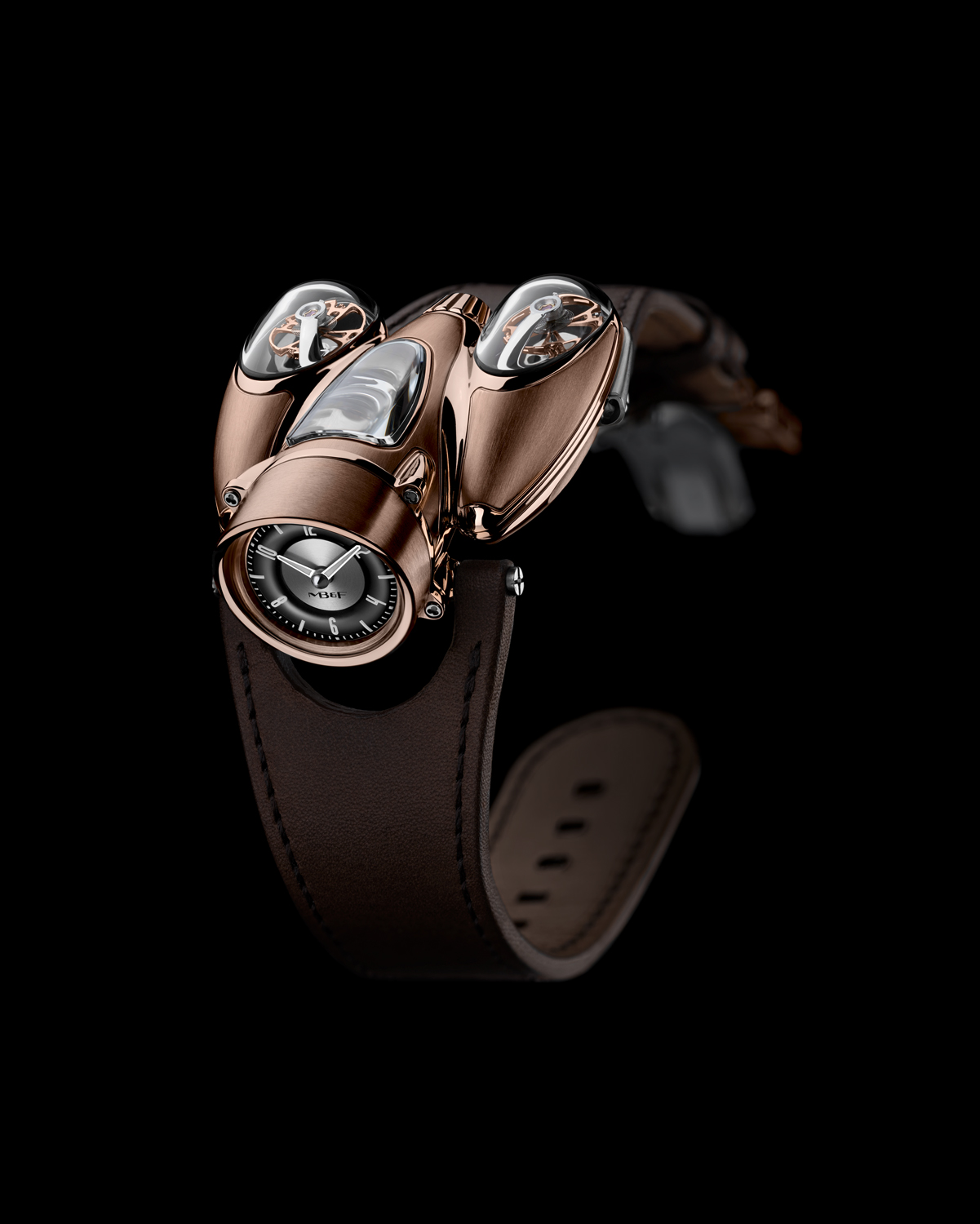 MB&F HM9 'Flow' Road red gold
