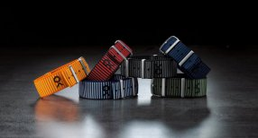 Econyl yarn nato strap collection