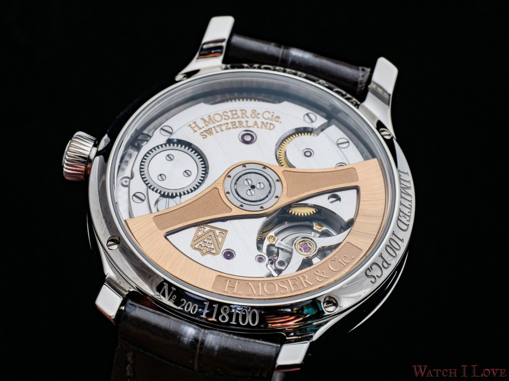H. Moser & Cie Endeavour Centre Seconds Diamonds Purity HMC200