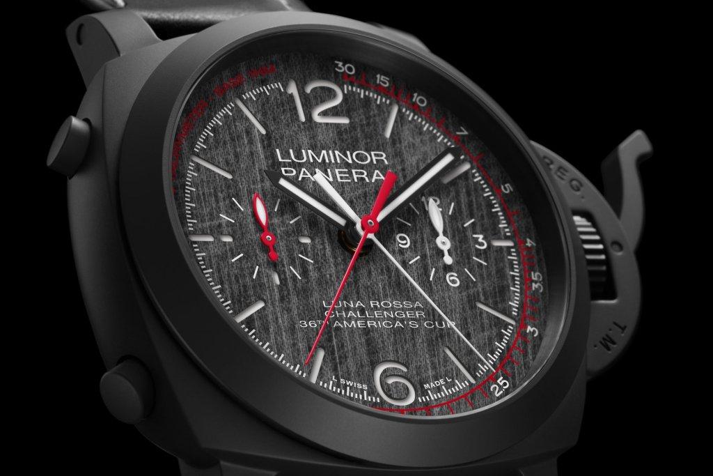 LUMINOR LUNA ROSSA CHRONO FLYBACK - 44 MM PAM01037