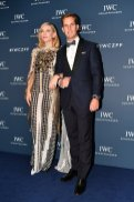 """Australian actor and IWC brand ambassador Cate Blanchett and IWC Schaffhausen CEO Chris Grainger-Herr attend the IWC Private Dinner held at Haute on October 05, 2019 in Zurich, Switzerland. During the event, Australian actor and IWC brand ambassador Cate Blanchett presented the 5th Filmmaker Award. The film """"Wanda, my miracle"""", directed by Bettina Oberli and produced by Lukas Hobi and Reto Schaerli, was declared the winner by the jury. The award, which is worth CHF 100,000, supports outstanding Swiss film projects that are in the production or post-production stage. (Photo by Harold Cunningham/Getty Images for IWC)"""