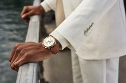 Igee Okafor wearing our Heritage Bicompax Annual_in Lucerne