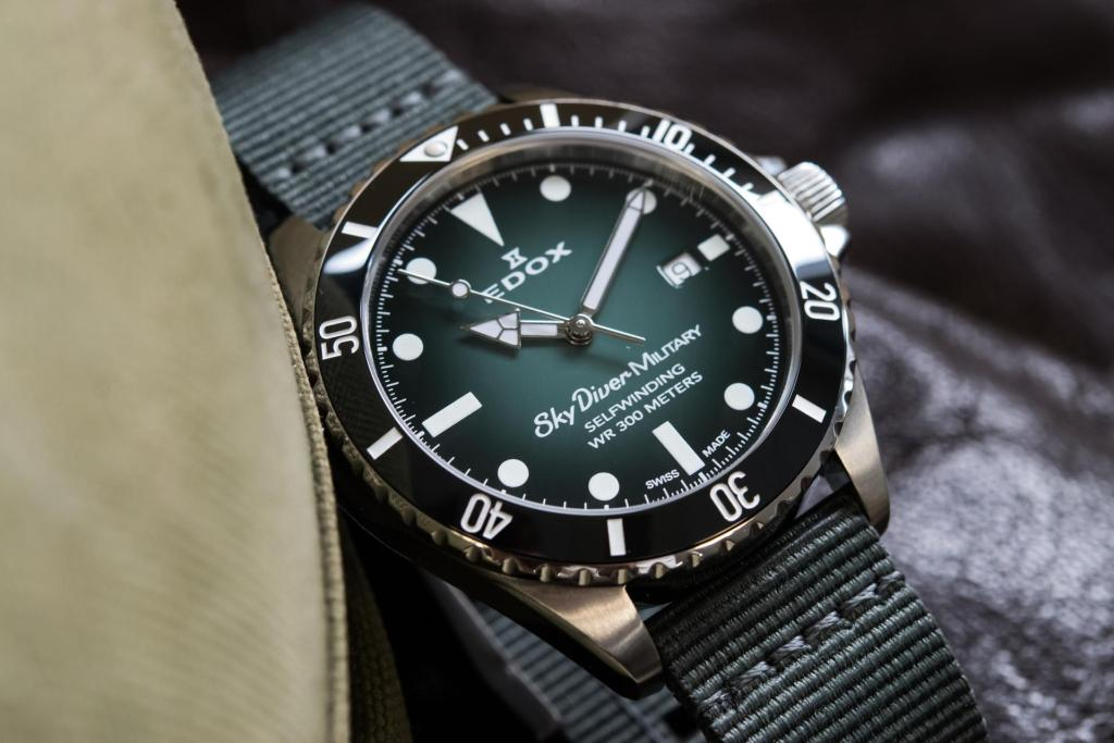 Edox SkyDiver Military Limited Edition