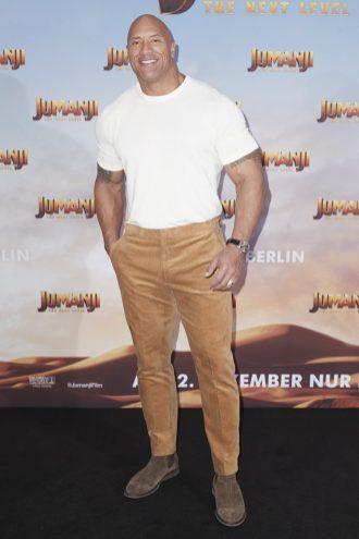 "#IWCSpotted - Dwayne ""The Rock"" Johnson wears IWC on ""Jumanji: The Next Level"" Press Tour"