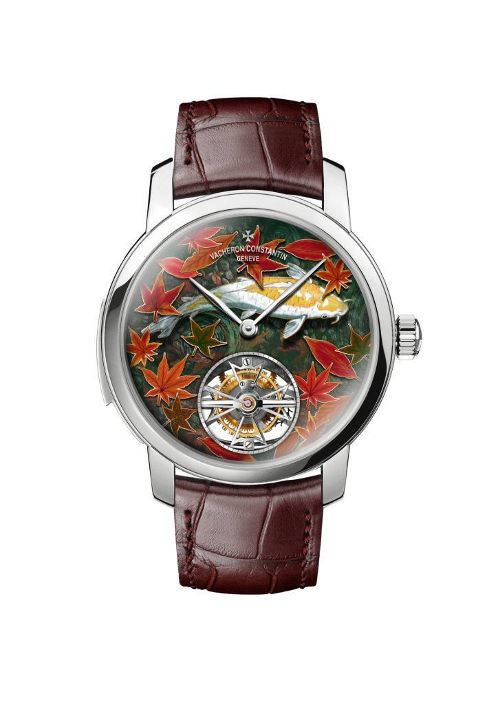 Les Cabinotiers Minute repeater tourbillon - Four seasons autumn Reference 6520C-000G-B605