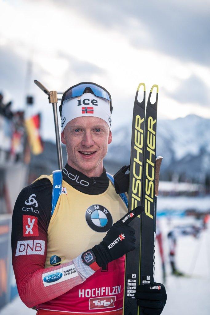 Richard Mille welcomes a new partner - Johannes Thingnes Bø