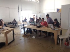 Building Your Own Website workshop at The LAB Miami