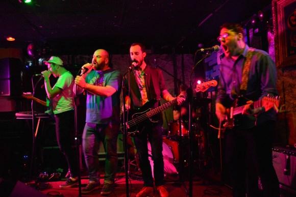 Beauts performing at Gus' Pub. (Photo: Hannah Daley)