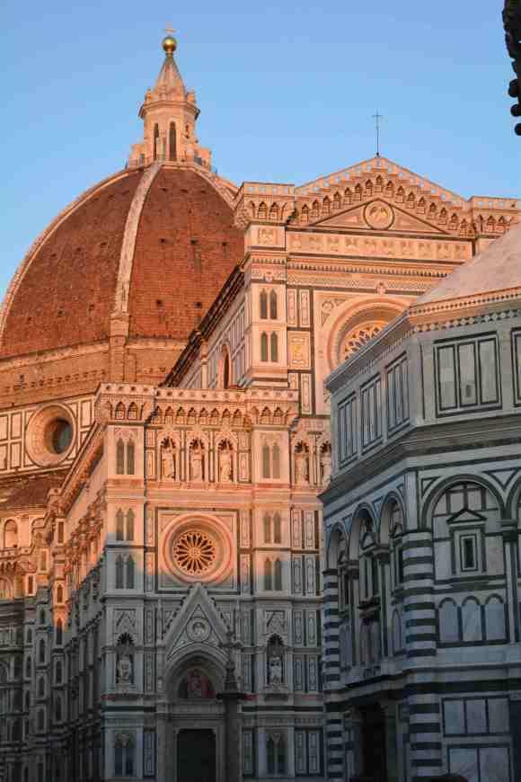 In Florence, Italy. (Photo: Kristen Thompson)