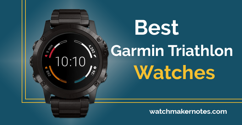 Garmin Triathlon watches review