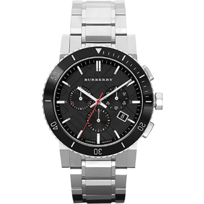 Men's Burberry The City Date Dial