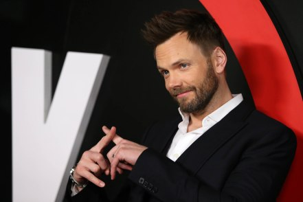 Joel McHale arrives at the season premiere of 'The X-Files' at the California Science Center on Tuesday, Jan. 12, 2016, in Los Angeles. (Photo by Omar Vega/Invision/AP)