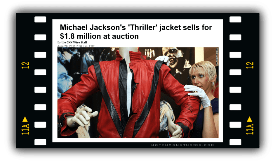 Thriller Jacket Auctioned for $1.6 Million