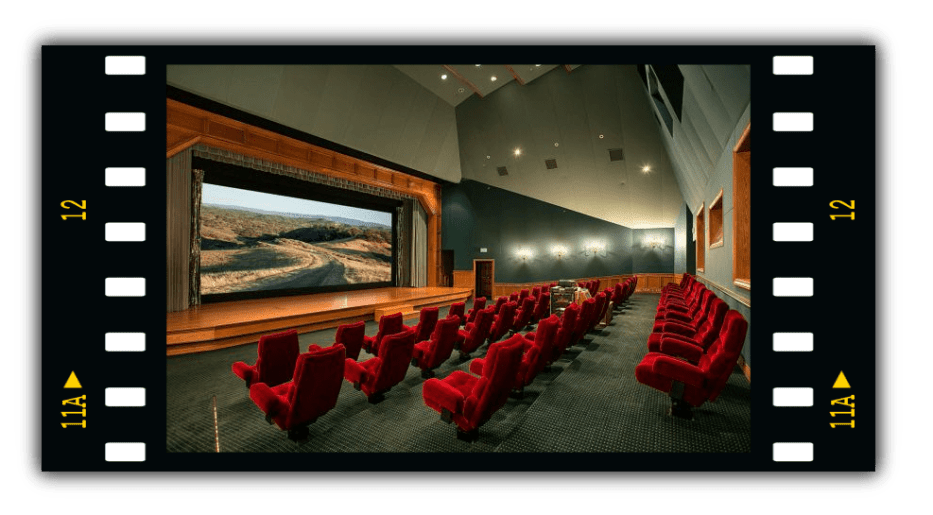 Movie Theatre inside Neverland Ranch