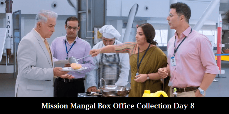 Mission Mangal Box Office Collection Day 8