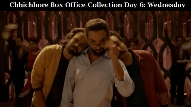 Chhichhore Box Office Collection Day 6 Wednesday