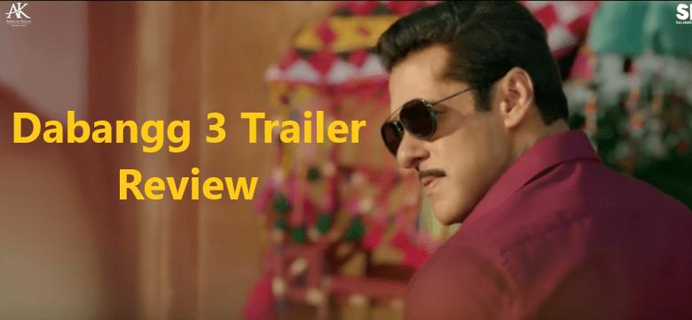 Dabangg 3 Trailer Review