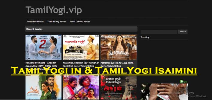 What is TamilYogi in & TamilYogi Isaimini?