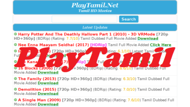 Photo of PlayTamil – Dowload Latest Tamil & Telugu Movies For Free