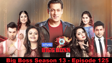 Bigg Boss Season 13 Episode 125