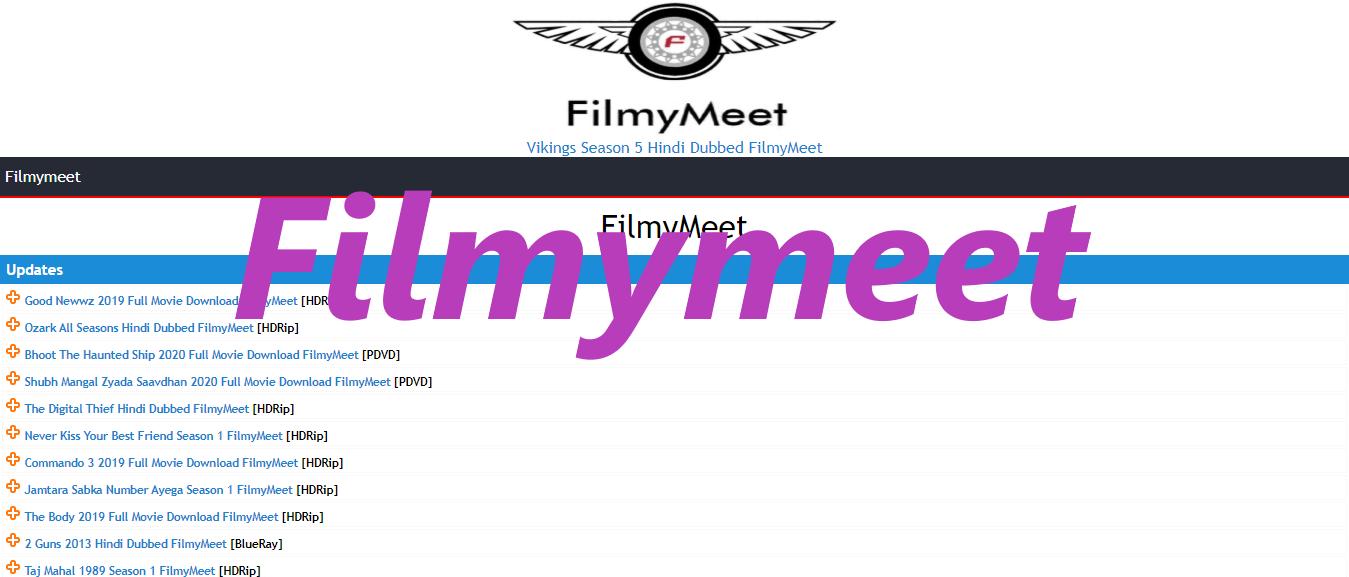 Filmymeet 2020 Download Latest Bollywood Hollywood Hindi