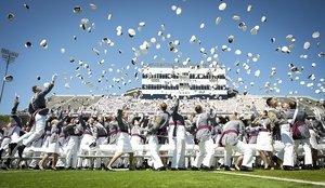 graduation from military school