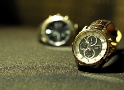 two seiko solar watches