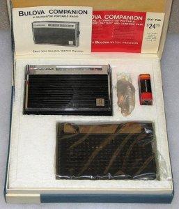 bulova radio in original box