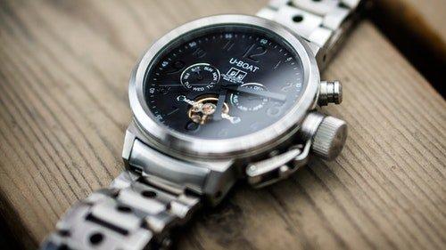 U-boat stainless steel watch