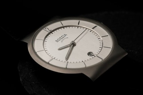 Titanium Watch face