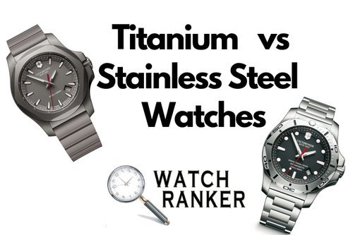 stainless vs titanium