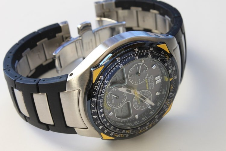 citizen Skyhawk pilot watch