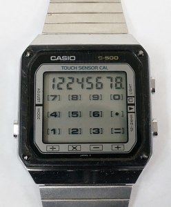 Casio TC500 Calculator Watch