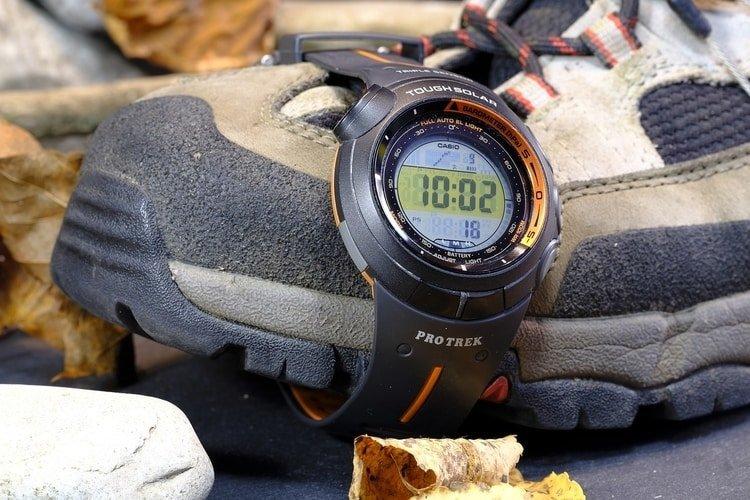 digital solar watch
