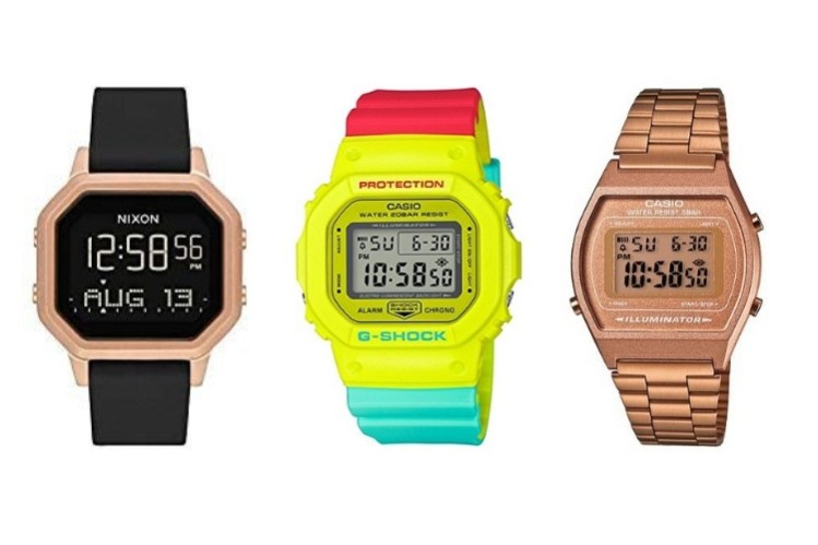 Top digital watches for women