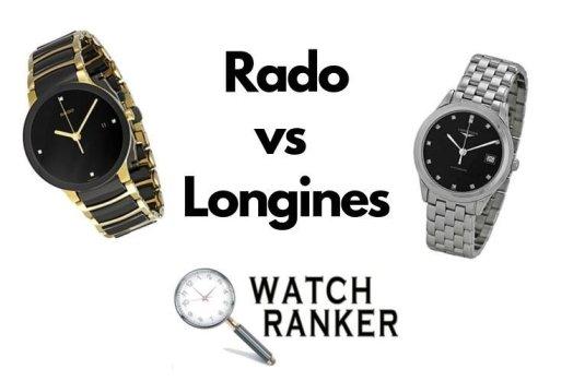 rado and longines watches