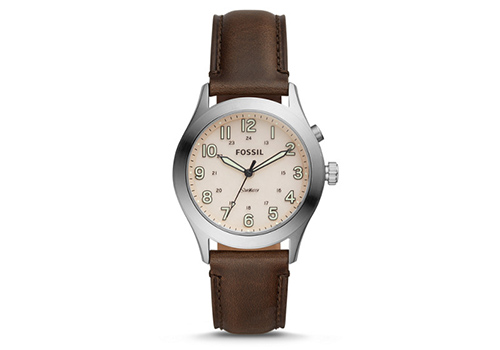 Fossil The Archival Series Starmaster Three-Hand Brown Leather (LE1059P)