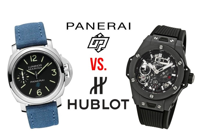 panerai vs hublot