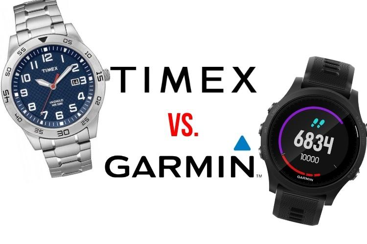 timex vs garmin