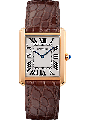 Cartier Tank Solo 18k Pink Gold