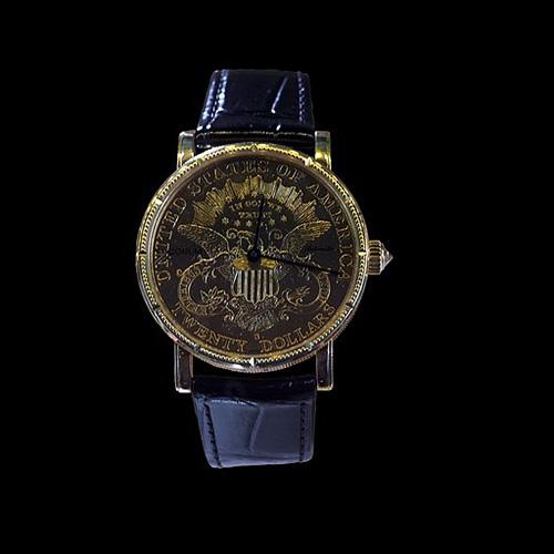 Corum Coin watch