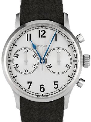 Stowa Marine Classic Chrono Blued Steel Clock Hands