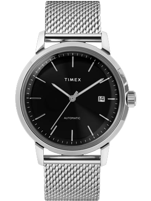 Timex Marlin Automatic 40mm Stainless Steel Mesh Band TW2T22900ZV