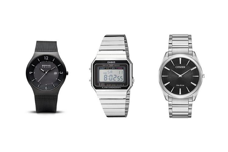 three thin watches