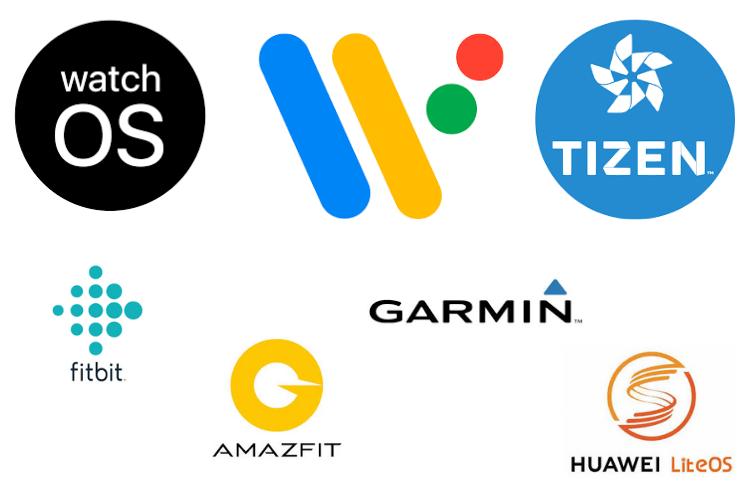 smartwatch logos