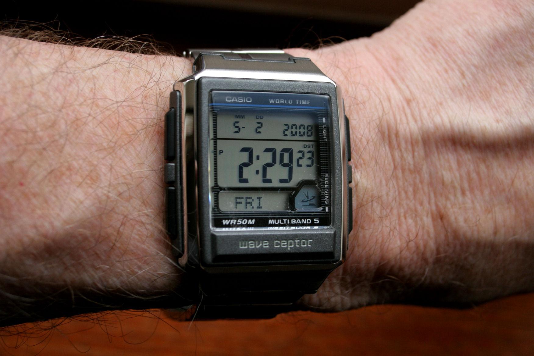 Casio Atomic 5 receiver watch