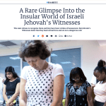 A Rare Glimpse Into the Insular World of Israeli Jehovah's Witnesses