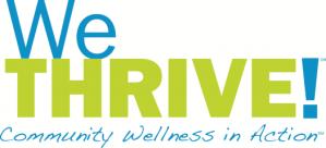 WeTHRIVE! Logo on White Background